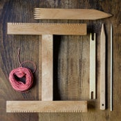 Image of Handmade hand loom kit