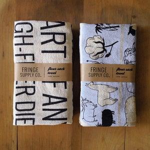 Image of Flour sack towels