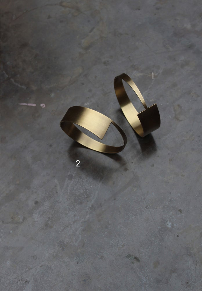 Image of Arrow Bracelets + Ring