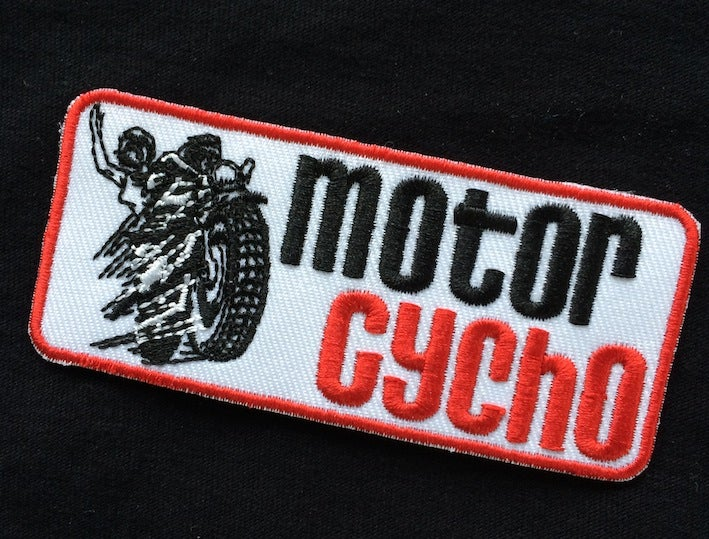 Image of Motorcycho New Wave Patch