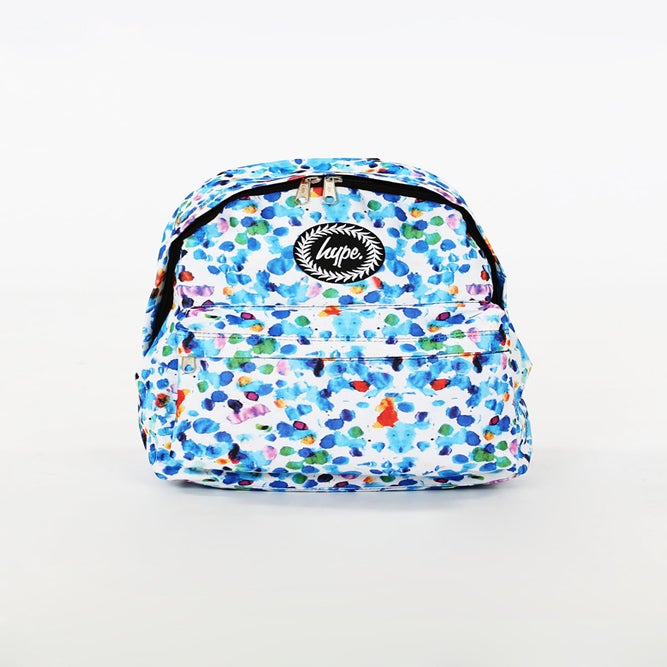 Image of HYPE. WATERCOLOUR SPLASH BACKPACK