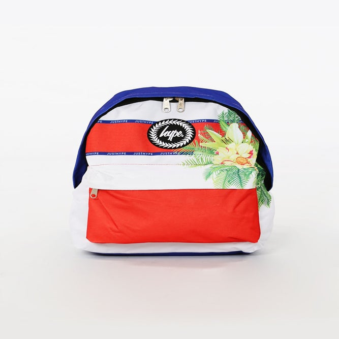 Image of HYPE. SPORTING FLORAL BACKPACK