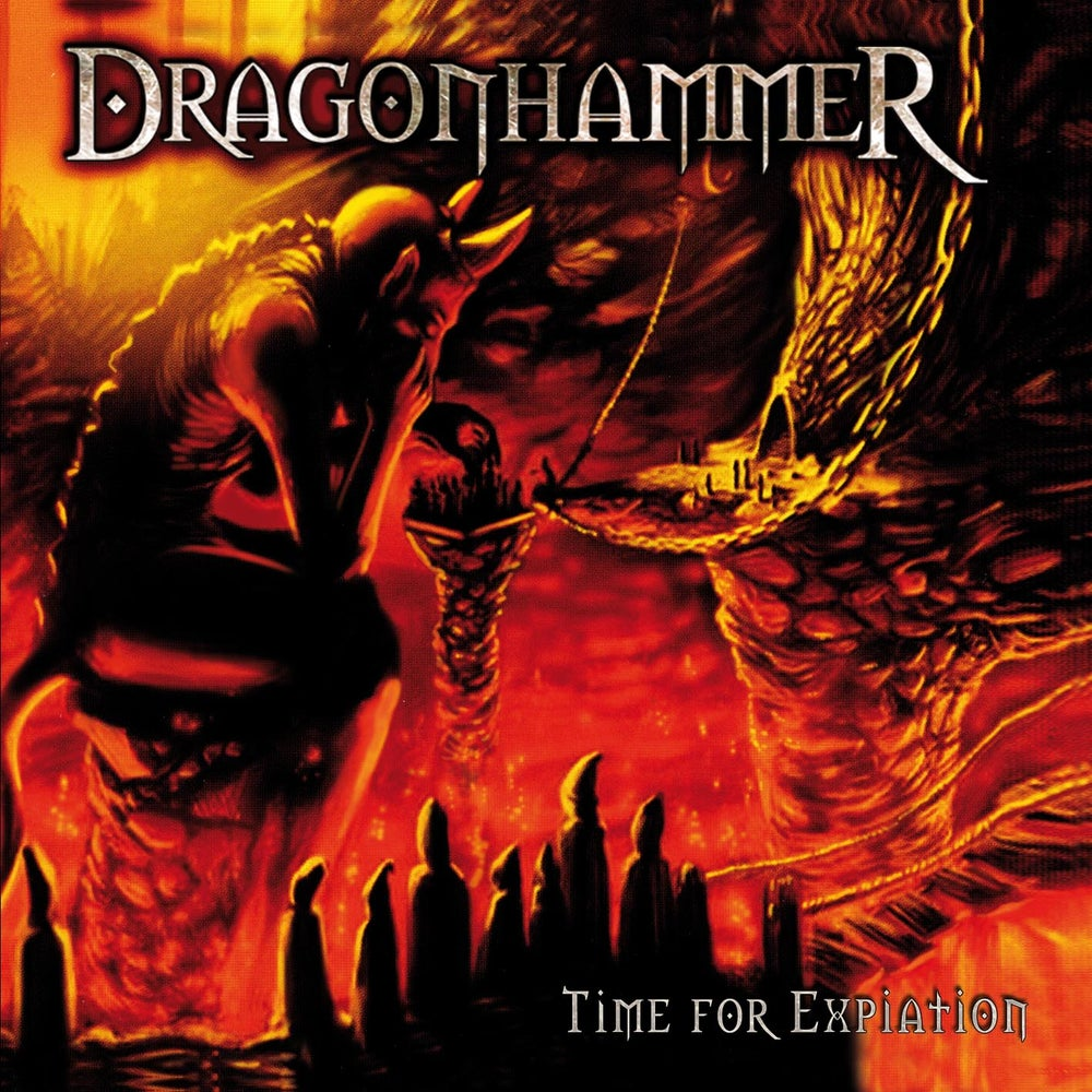 """Image of DRAGONHAMMER """"Time For Expiation (MMXV edition)"""" CD"""