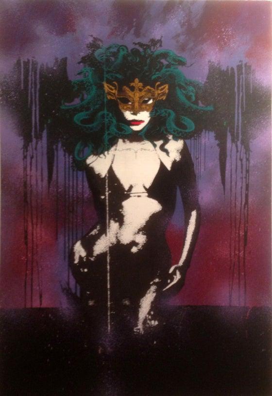 Image of 'Medusa' by James Starr (SOLD)