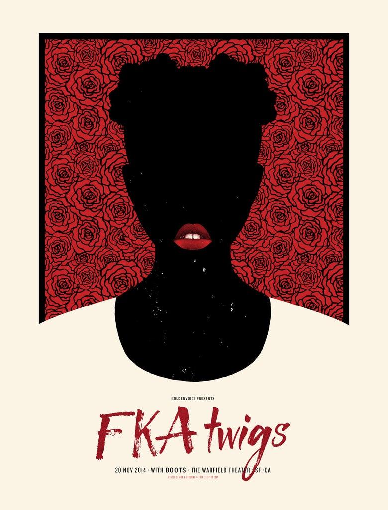 Image of FKA Twigs - San Francisco 2014