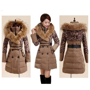 Image of Tracy Leopard Coat