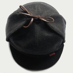Image of 'SHERLOCK' LODEN DEERSTALKER HAT