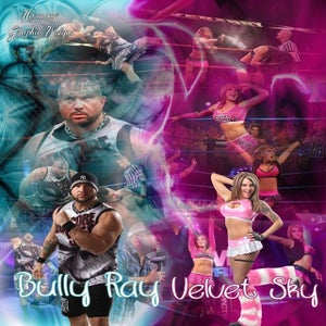 Image of Bully Ray & Velvet Sky signed 8x10 photo