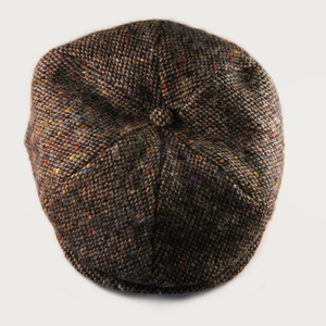 Image of 'NOODLES' FLAT CAP [DONEGAL TWEED]