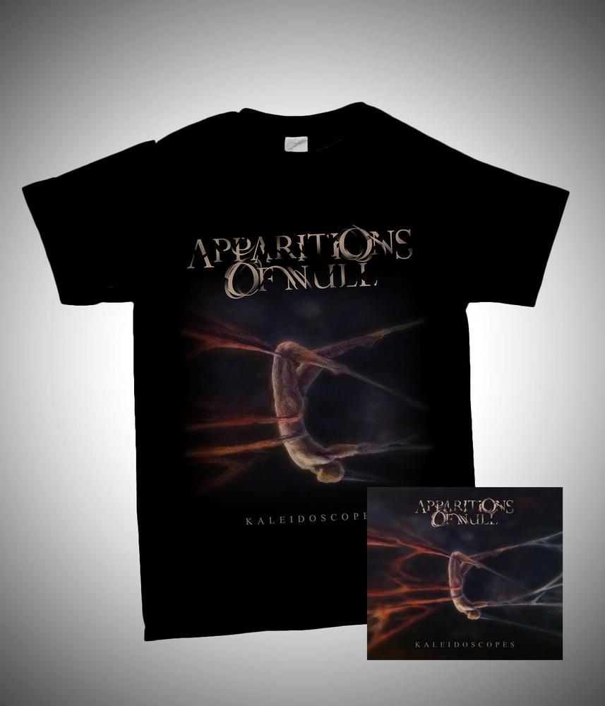Image of Kaleidoscopes Package - Digipak CD + t-shirt (grey or black) + digital download
