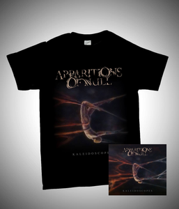 Image of Kaleidoscopes Package - Digipak CD + t-shirt (grey or black) + digital download