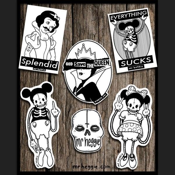 Image of Super Shitty Sticker Set #3