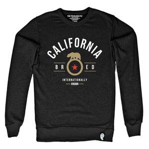 Image of Cali Bred (SF) Black Crewneck