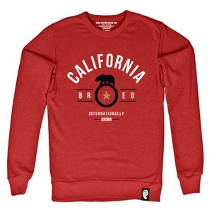 Image of Cali Bred (SF) Red Crewneck
