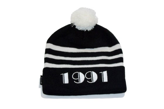 Image of 1991 Beanie (Blk/Wht)