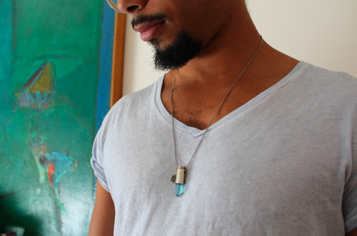 Image of Aqua Aura 3 - Sterling Silver