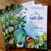 """Image of """"The Garden: A Parenting Parable"""" illustrated book"""