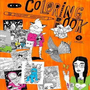 Image of Coloring Book, Volume 4 <br> (64 pages)
