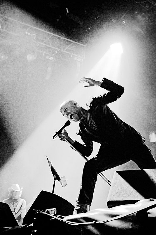 Image of REM in concert, London 2008 (Edition Print).