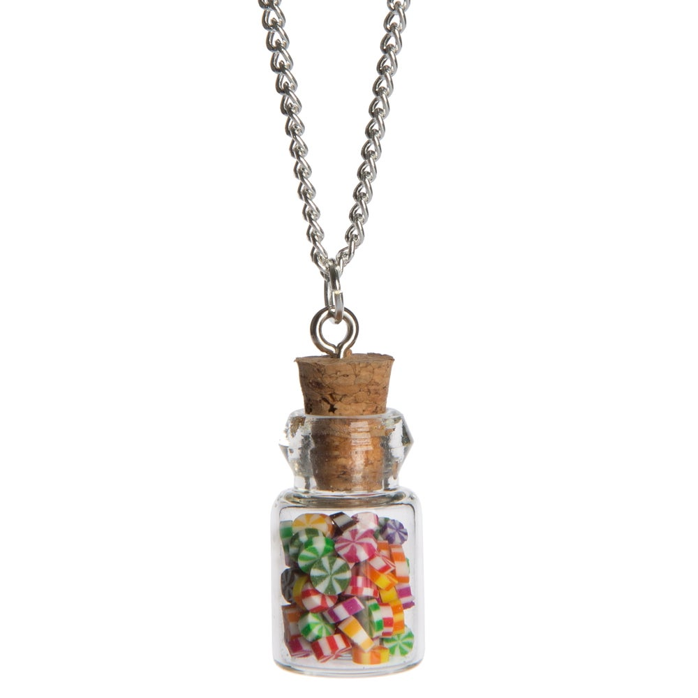 Image of Summer Rock Bottle Necklace