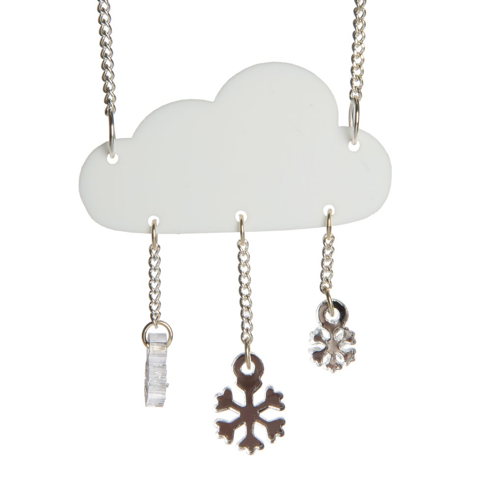 Image of Snow Storm Necklace