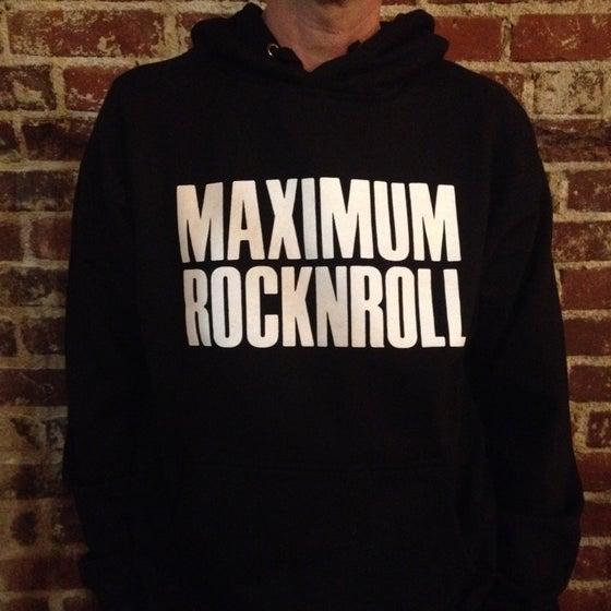 Image of MRR logo hoodie