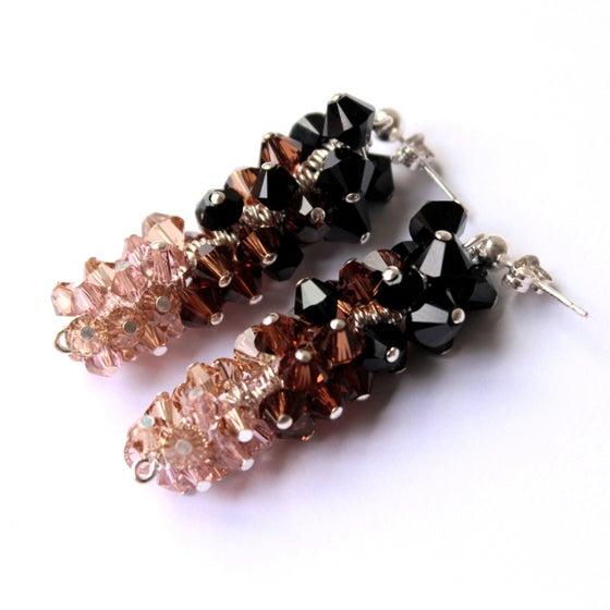 Image of Ostentatious Vintage Swarovski earrings
