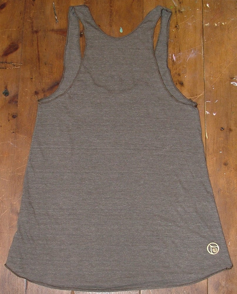 Image of Black Lotus Racer Back Tank Top