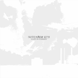 "Image of NOVEMBER 13th ""stadt in flammen"" LP"