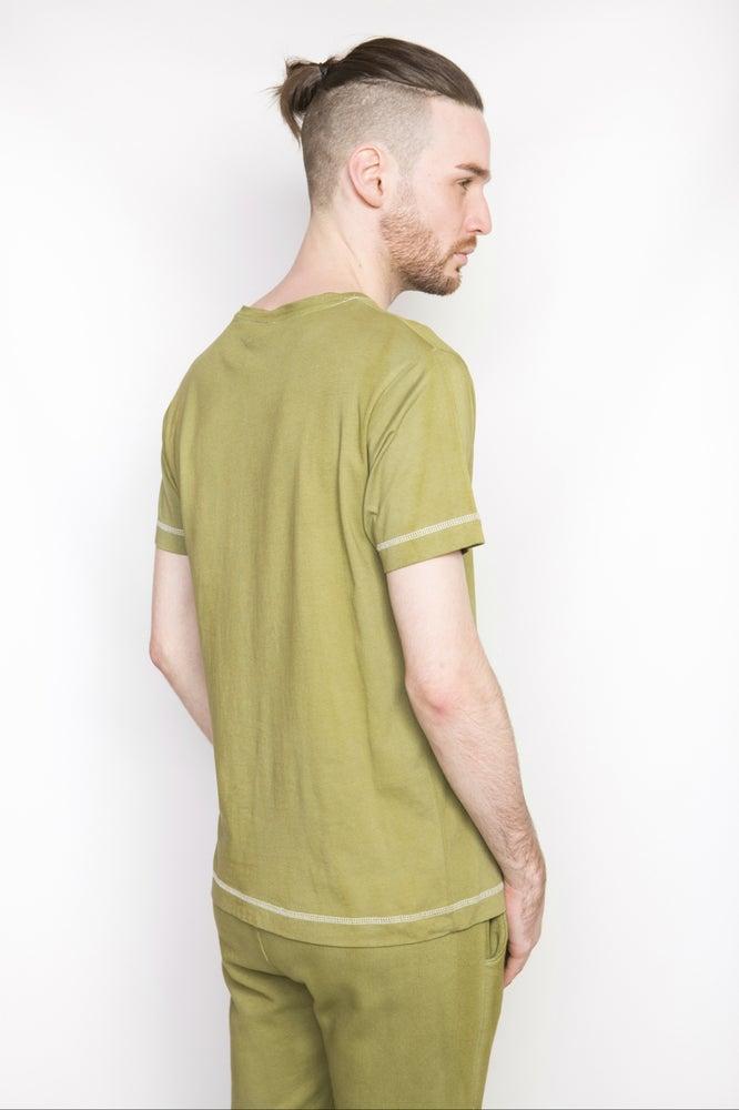 Image of Ⅲ Basic Olive Green T-Shirt