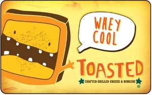 Image of Toasted Gift Card