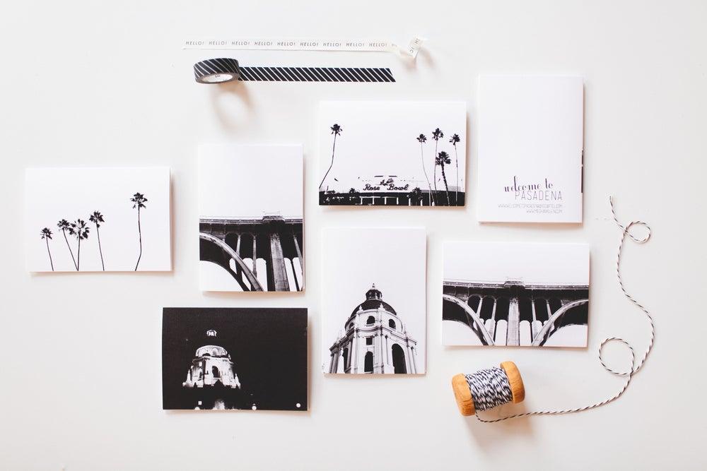 Image of 6 Assorted Pasadena Notecards
