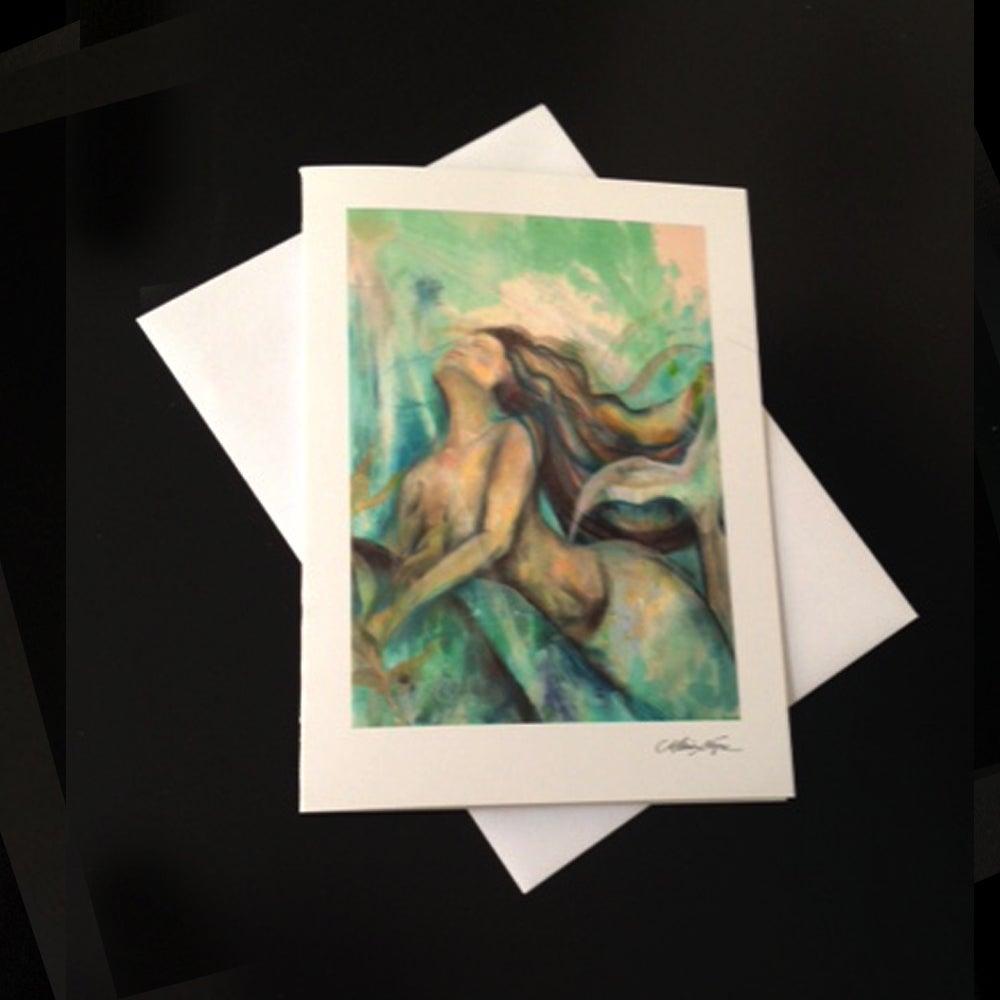 Image of Mermaid IIII 5-Pack Greeting Card Set