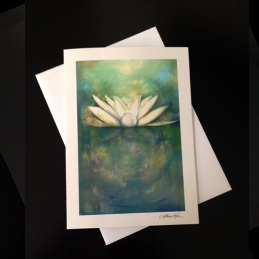 Image of Lotus 5-Pack Greeting Card Set