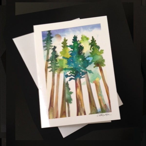 Image of Redwoods 5-Pack Greeting Card Set