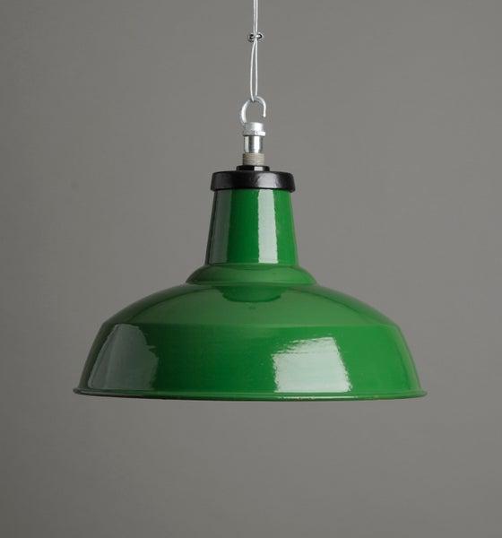 Image of Green Benjamin Pendant Light