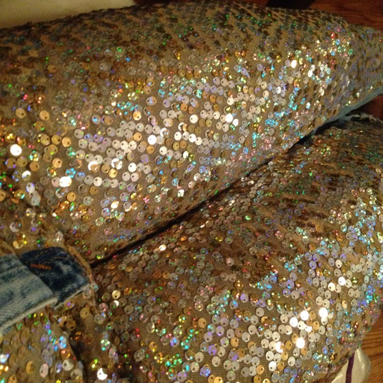 Image of Reina Sequin Jeans