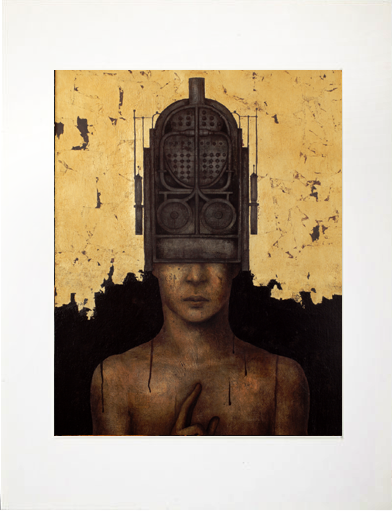 Image of Matted Print- I Am The Unknown