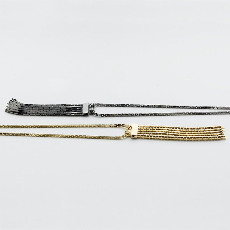 Image of WINNOW Sirius Fringe Necklace