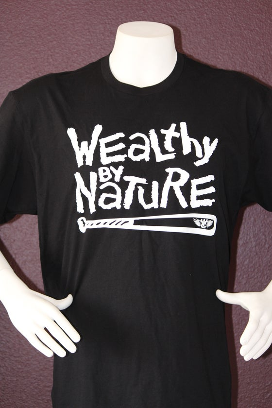 "Image of Wealthy By Nature ""Black Tee"""