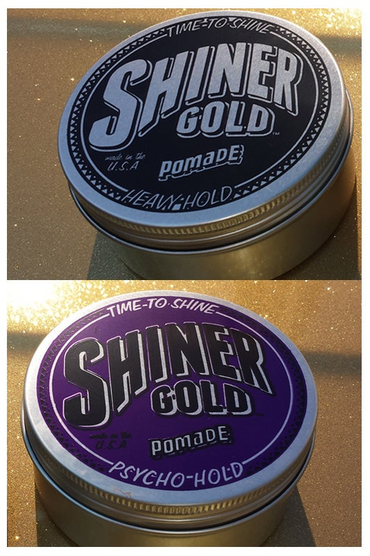 Image of SHINER GOLD POMADE COMBO