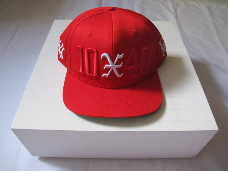 Image of 10 Deep x 40 oz NYC : 10-40 Snapback (Red)