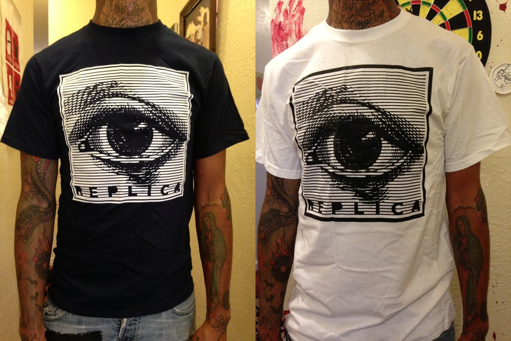 "Image of REPLICA ""EYE"" TSHIRT"