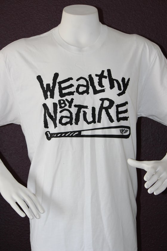 "Image of Wealthy By Nature ""White Tee"""