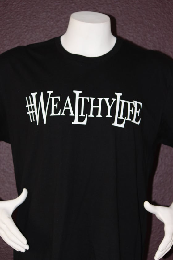 "Image of #Wealthylife Tee ""Black / White"""