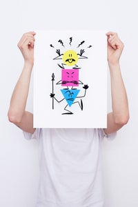 Image of The Guardians Of Print - Framed Screenprint