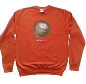 Image of Big Ball No Alla Violenza  Sweat Orange
