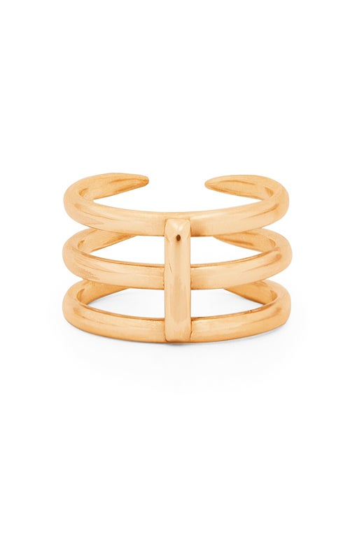 Image of Claw Ring 3 Gold or Rosé