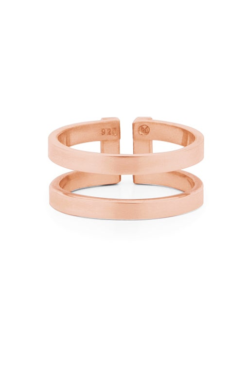 Image of DUAL Ring Small Gold or Rosé