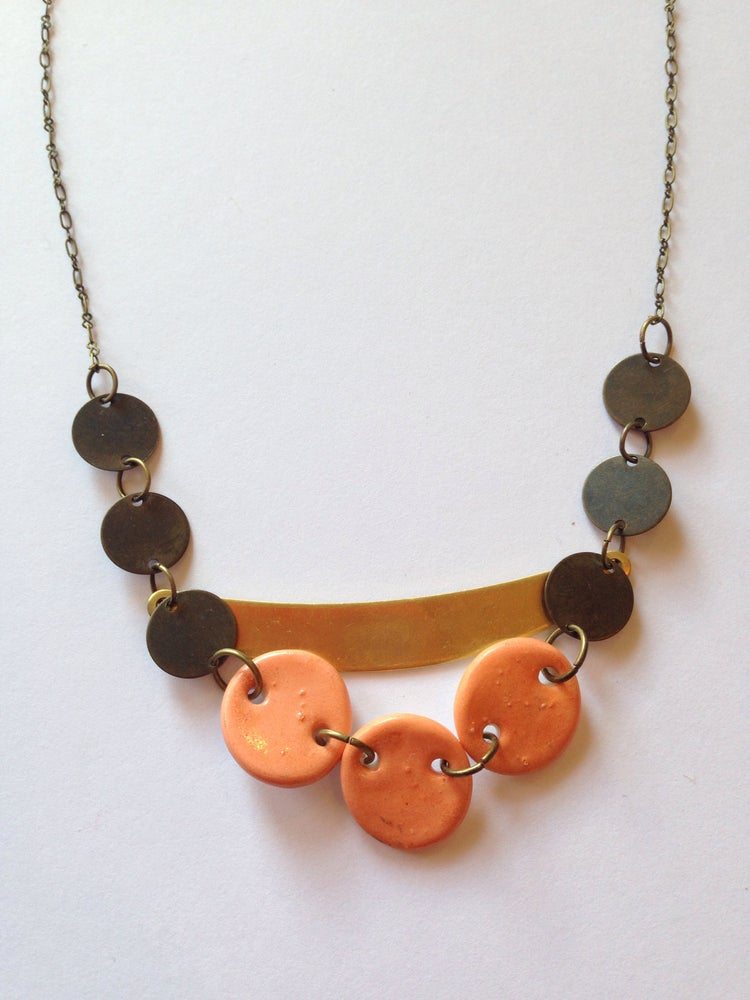 Image of Button necklace